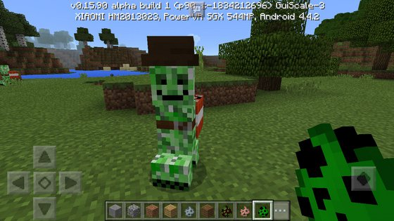 Friendly Creepers Addon скриншот 2