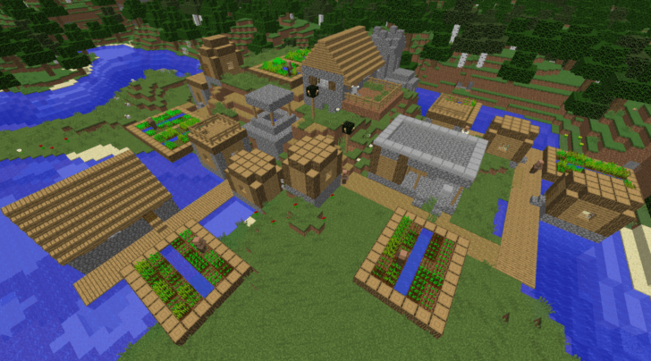 9053284211242239062 A Large Village With Many Resources  Screenshot 1