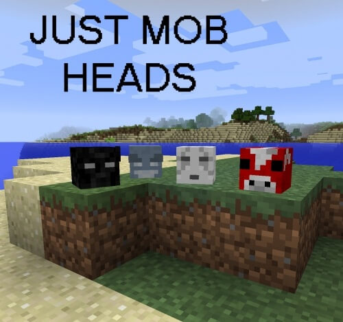 Just Mob Heads 1.11.2 скриншот 1