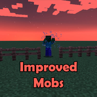 Improved Mobs 1.12.2 скриншот 1