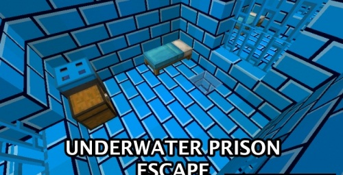 Карта Underwater Prison Escape скриншот 1
