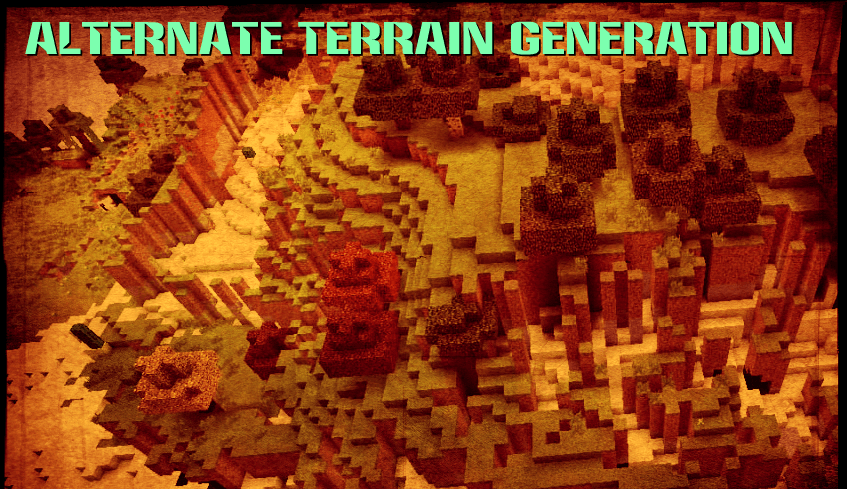 Alternate Terrain Generation скриншот 1