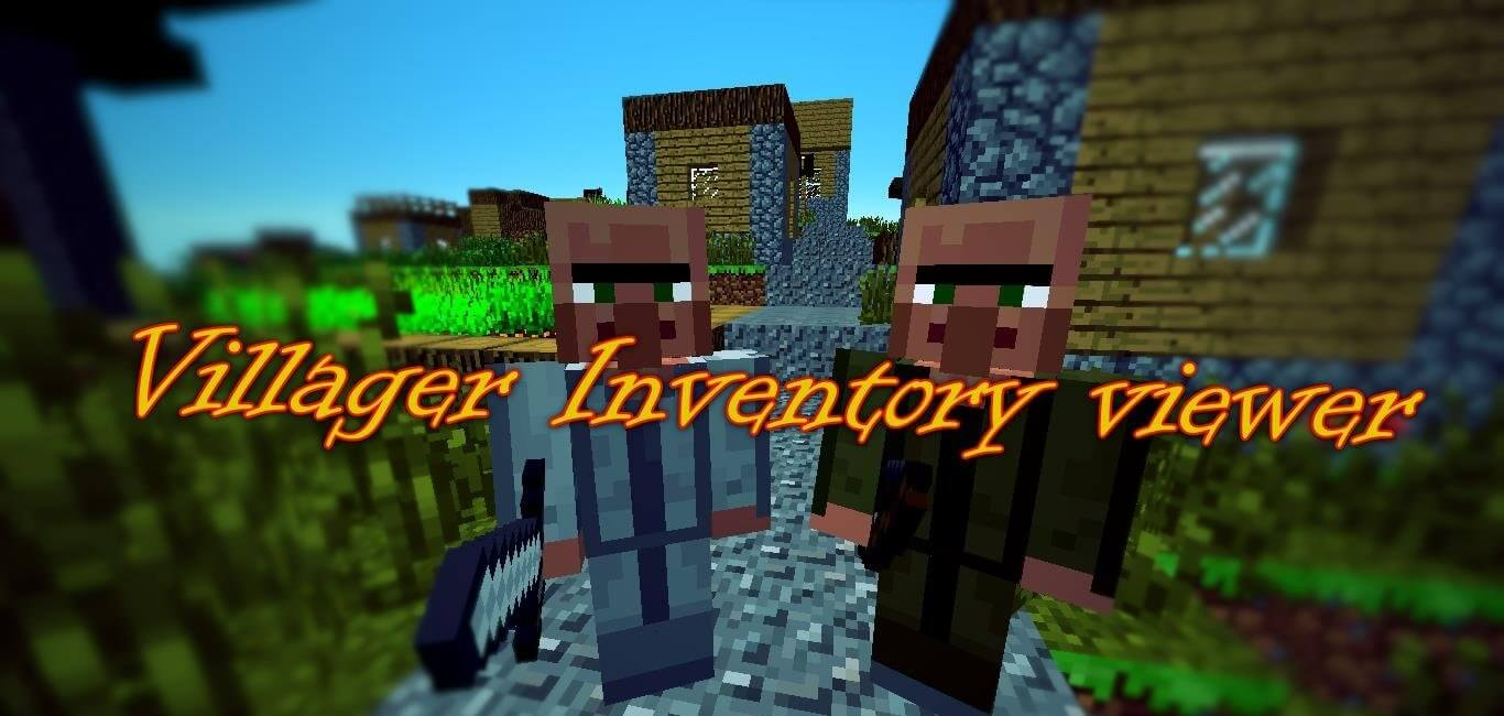 Villager Inventory Viewer скриншот 1