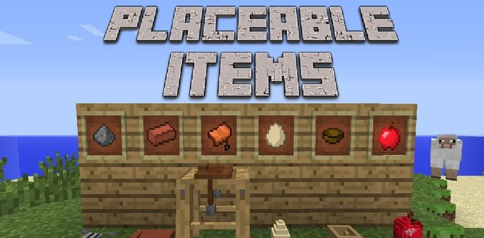 Placeable Items скриншот 1