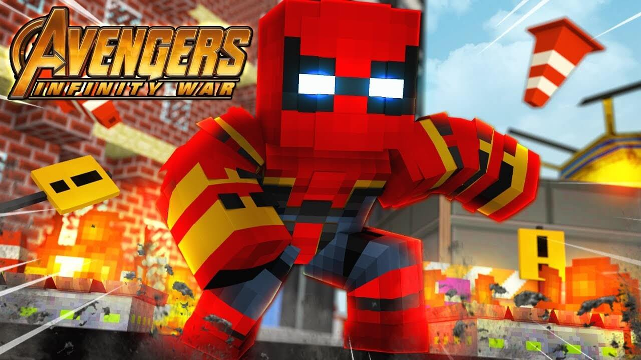 Avengers: Infinity War Special for Minecraft Pocket Edition