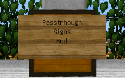 Passthrough Signs скриншот 1