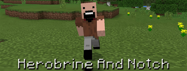 Herobrine And Notch скриншот 1
