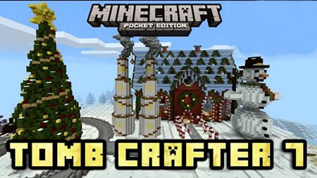 Tomb Crafter 7 Christmas скриншот 1