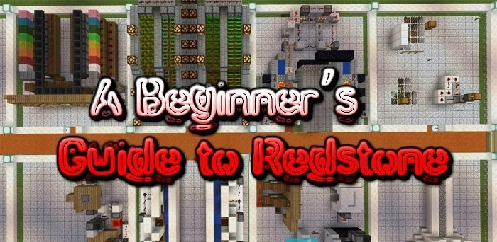 A Beginner's Guide to Redstone скриншот 1