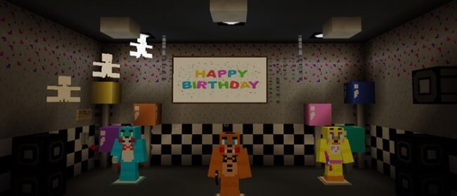 Five Nights At Freddy's 2 Re-Creation  скриншот 1