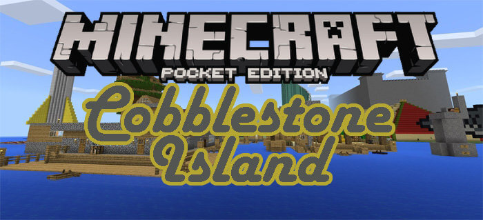 how to get cobblestone minecraft pocket edition