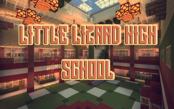 Little Lizard High School скриншот 1