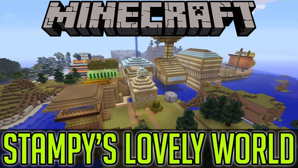 Stampy's lovely world скриншот 1