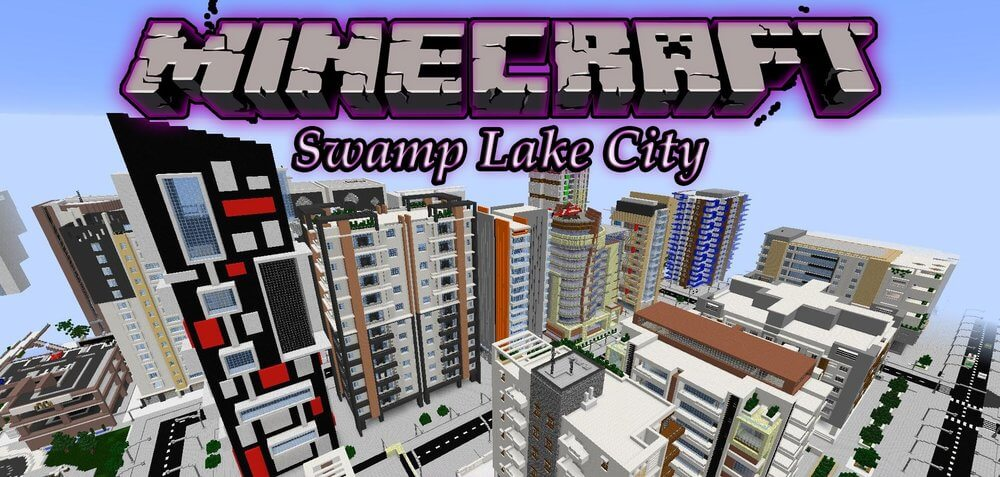 Swamp Lake City скриншот 1