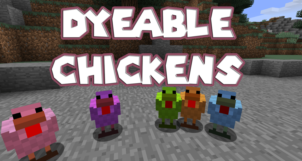 Dyeable Chickens скриншот 1