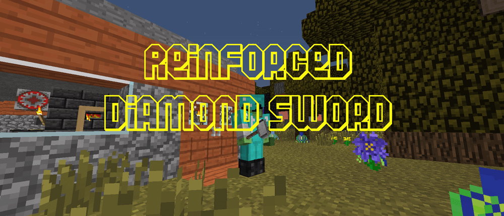 Reinforced Diamond Sword скриншот 1