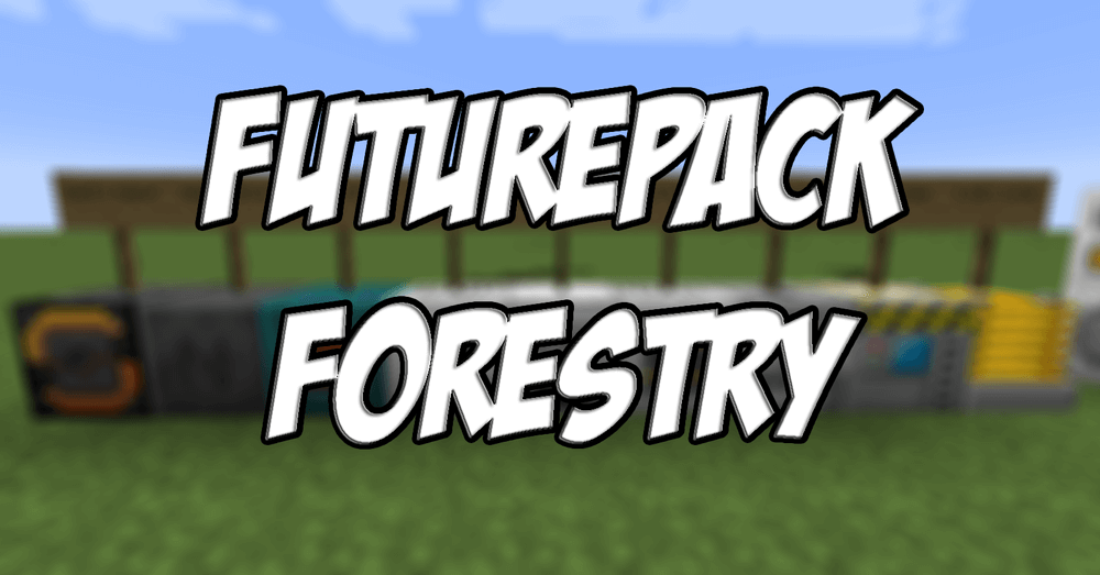 Futurepack Forestry скриншот 1