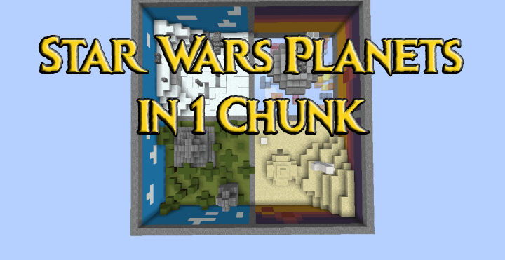 Star Wars Planets in 1 Chunk скриншот 1