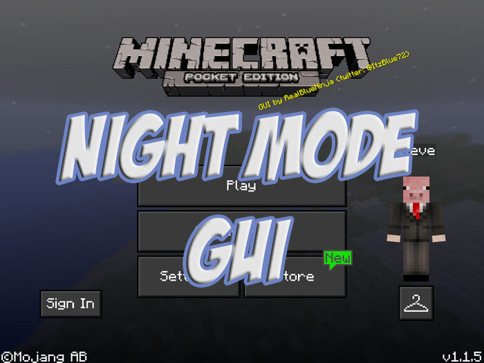Night Mode GUI скриншот 1