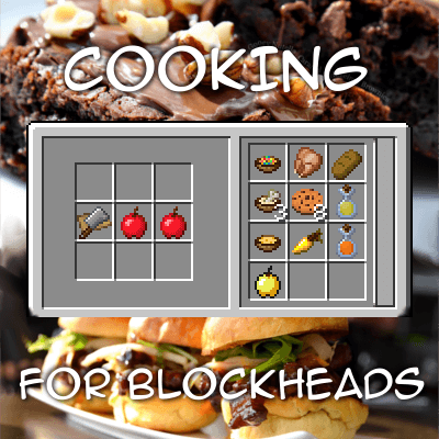 Cooking for Blockheads 1.8.9 скриншот 1