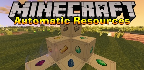 Automatic Resources 1.12.2 скриншот 1