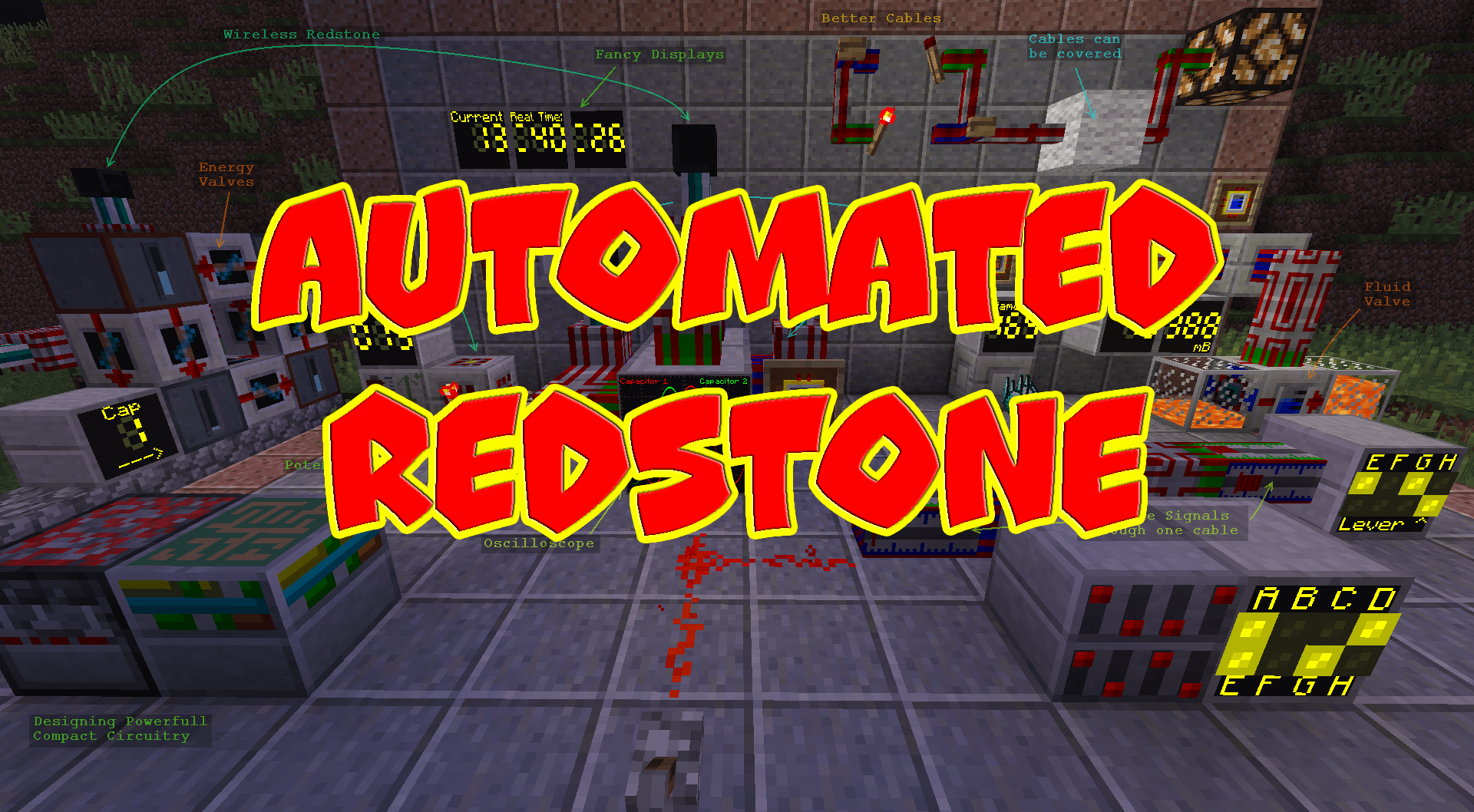 Automated Redstone скриншот 1