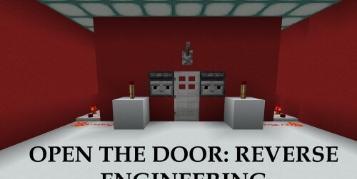 Карта Open The Door: Reverse Engineering скриншот 1