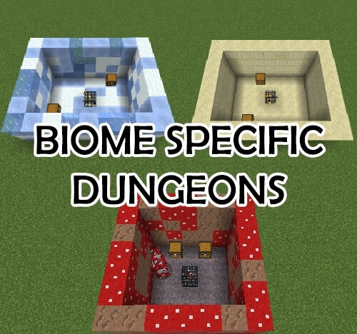 Biome Specific Dungeons 1.12.2 скриншот 1