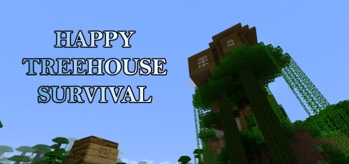 Карта Happy Treehouse Survival скриншот 1