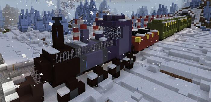 Tomb Crafter 7 Christmas скриншот 2