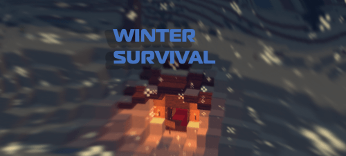 Карта Minecraft Winter Survival скриншот 1