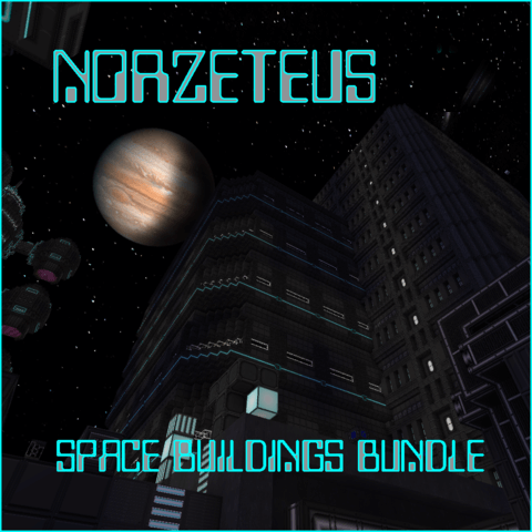 Norzeteus Space Buildings Bundle скриншот 1