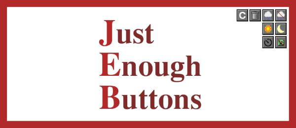 Just Enough Buttons скриншот 1