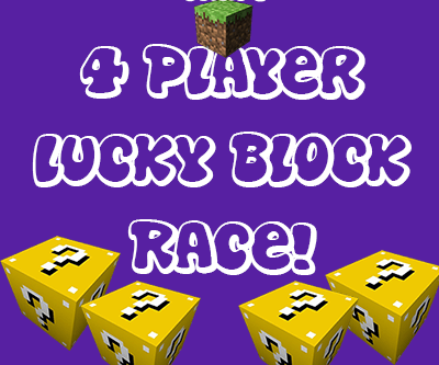 Four Player Lucky Block Race screenshot 1