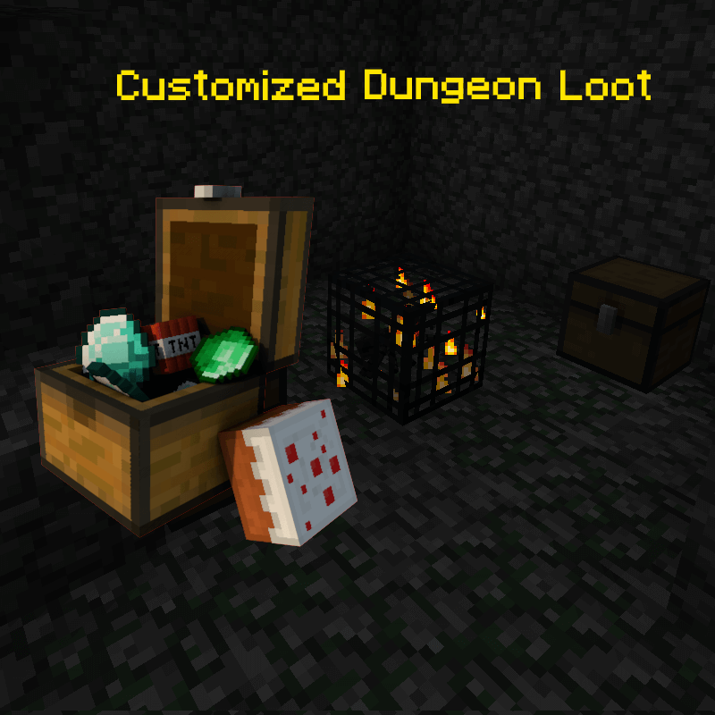 Customized Dungeon Loot скриншот 1