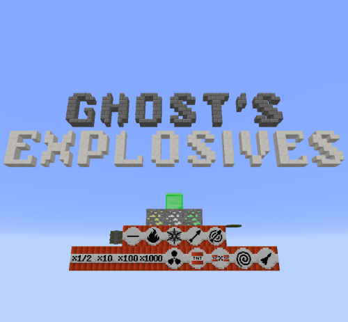 Ghost's Explosives 1.12.2 скриншот 1