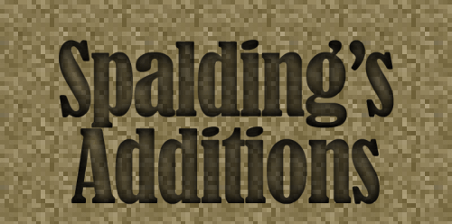 Spalding's Additions 1.12.2 скриншот 1