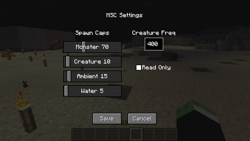Mob Settings скриншот 2