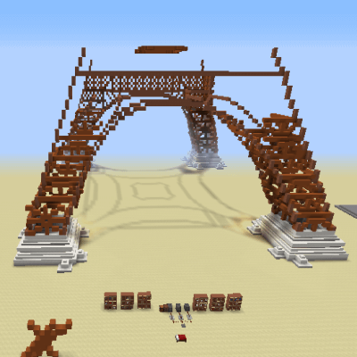The Eiffel Tower Build скриншот 3