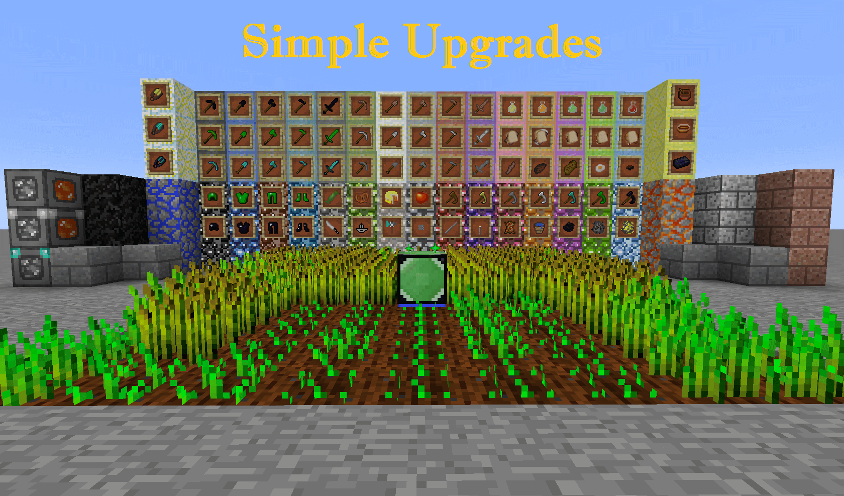 Simple Upgrades скриншот 1
