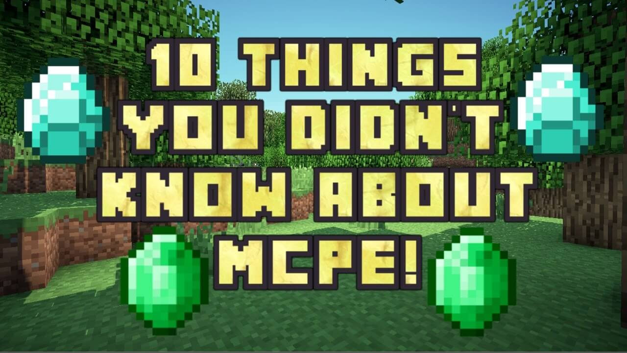 10 Things You Don't Know About MCPE скриншот 1
