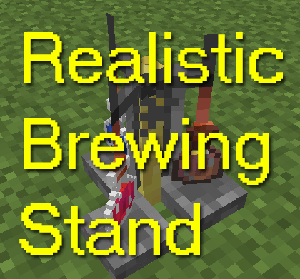 Realistic Brewing Stand 1.12.2 скриншот 1