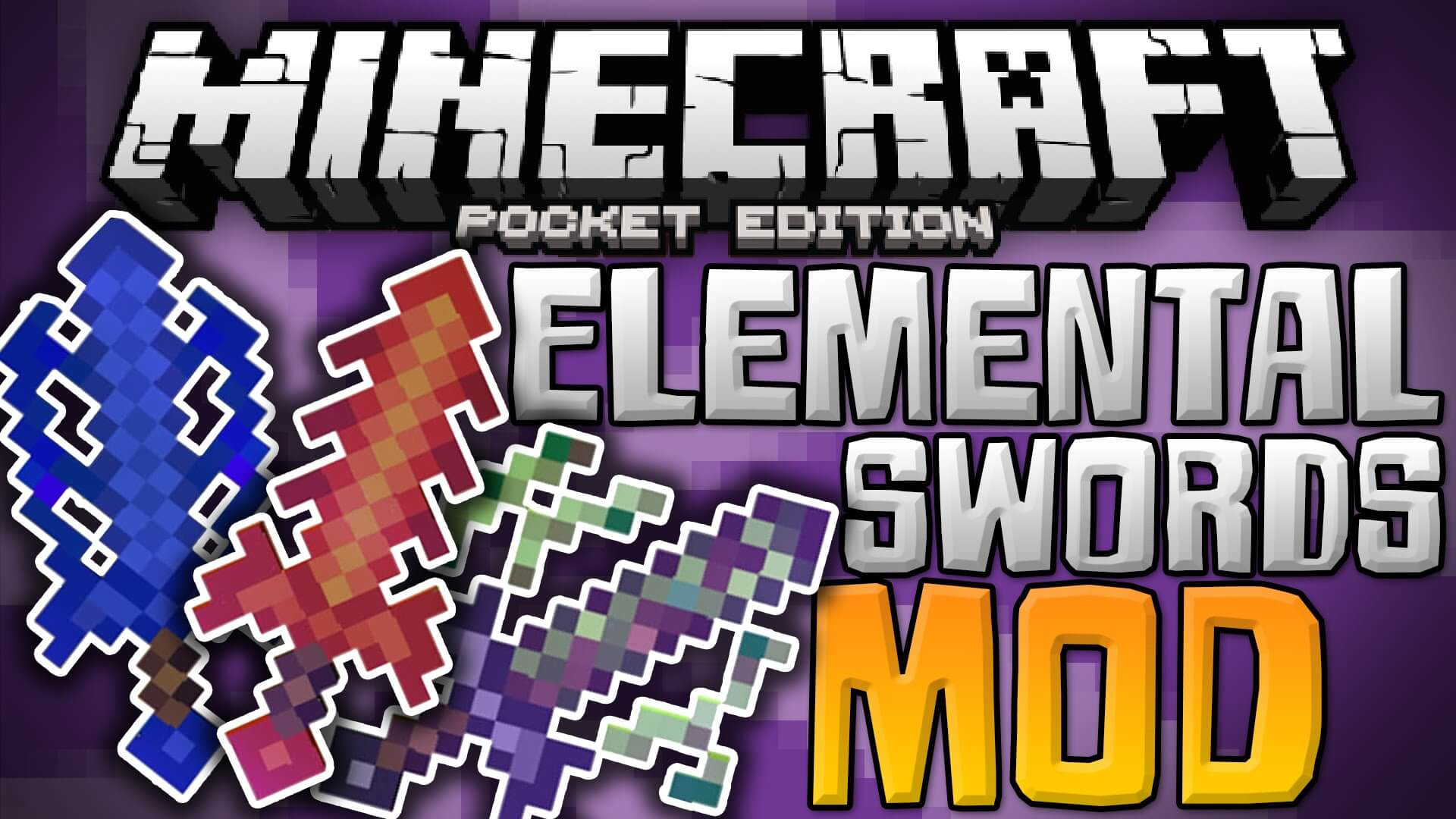 Лого Elemental Swords Mod