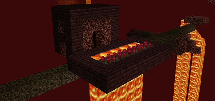 Nether Villages Mod скриншот 2