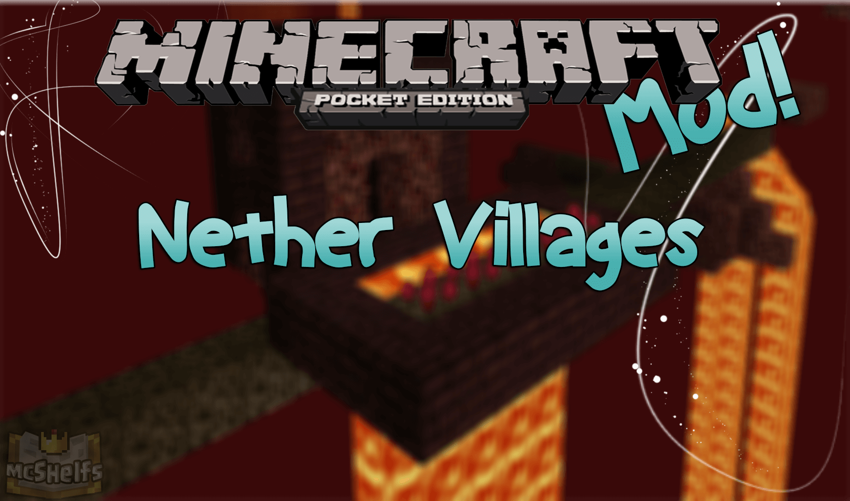 Лого Nether Villages Mod