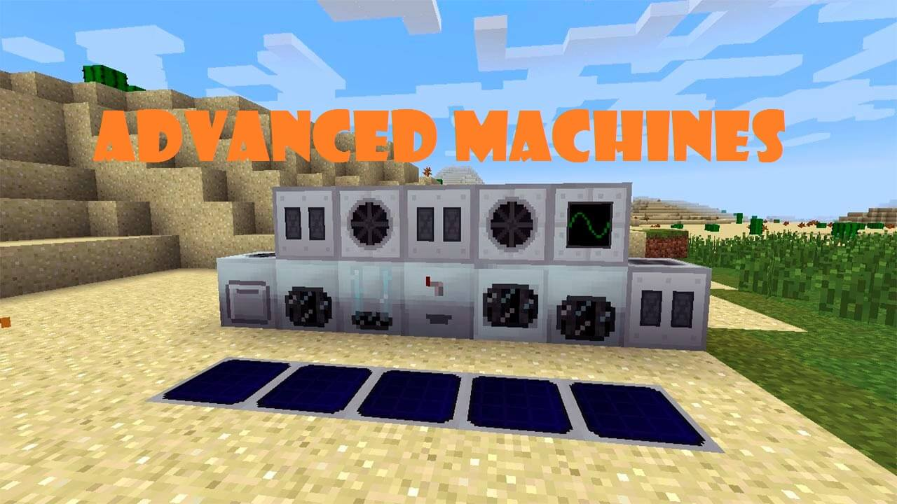 Advanced Machines скриншот 1
