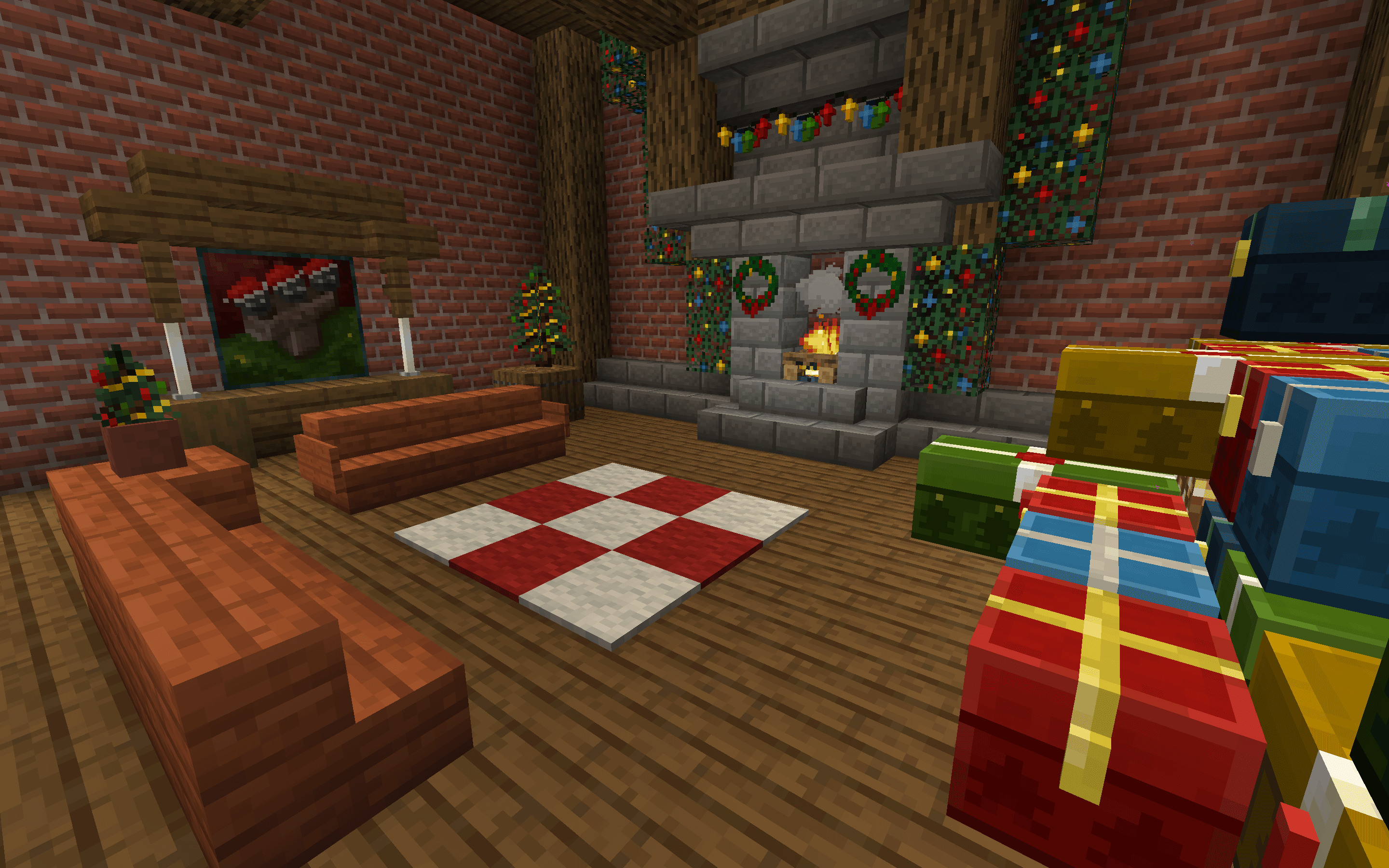 New Default-Style Christmas Pack скриншот 2