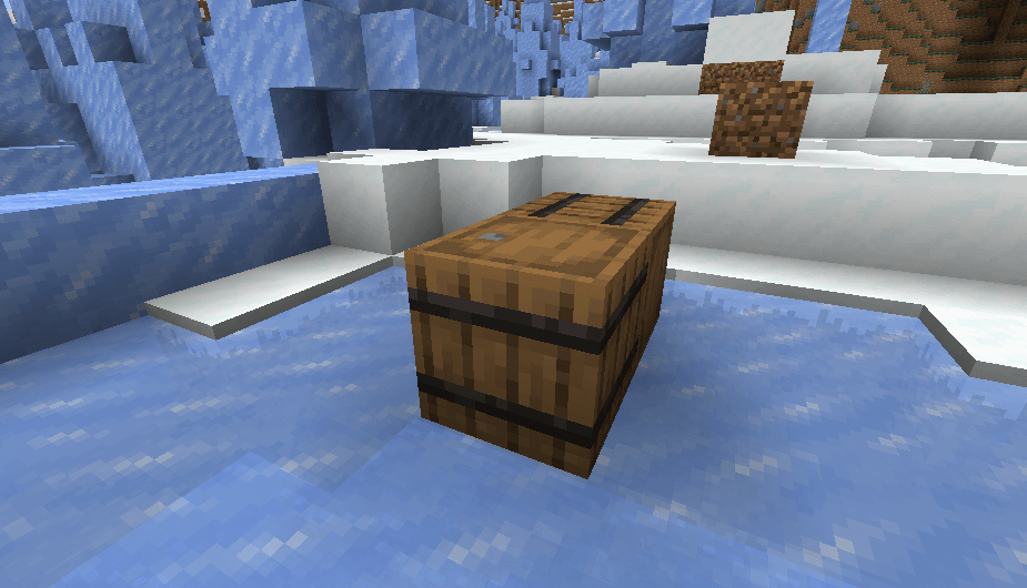 Barrel in Minecraft 1.14