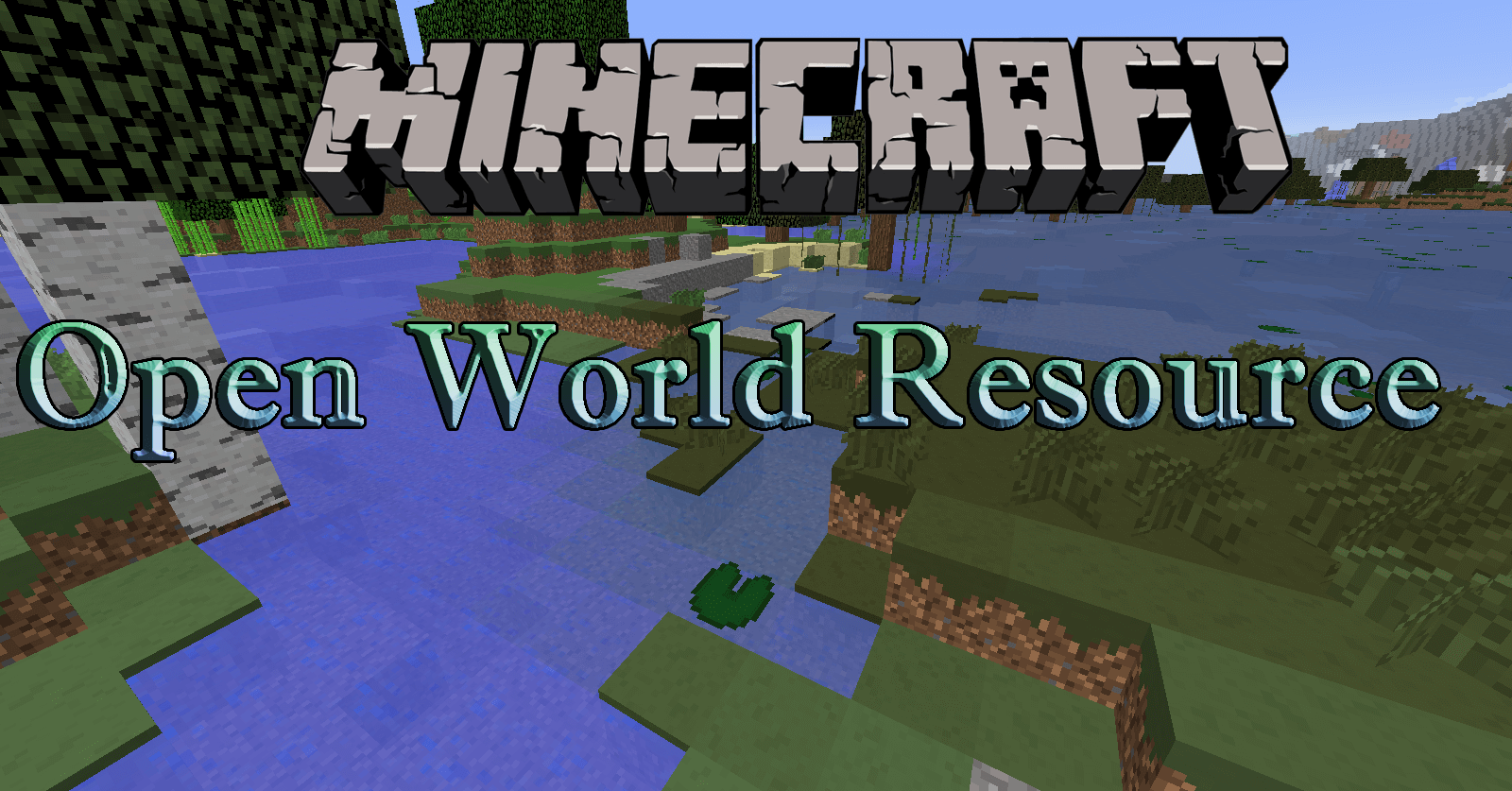 Open World Resource Pack скриншо т1