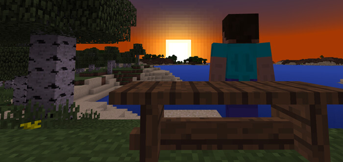 Wooden Benches For Minecraft Pocket Edition 1 2